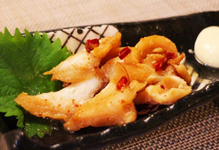 つぶ貝のピリ辛焼き